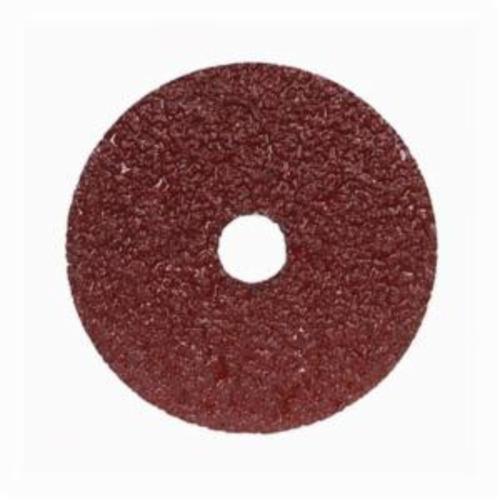Merit® Metal® 66623353312 F226/F240 Coated Abrasive Disc, 4-1/2 in Dia, 7/8 in Center Hole, 80 Grit, Medium Grade, Aluminum Oxide Abrasive, Center Mount Attachment