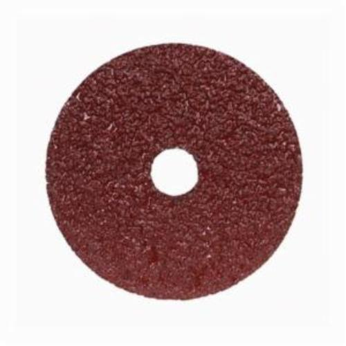 Merit® Metal® 66623357289 F240 Coated Abrasive Disc, 7 in Dia, 7/8 in Center Hole, 120 Grit, Fine Grade, Aluminum Oxide Abrasive, Center Mount Attachment