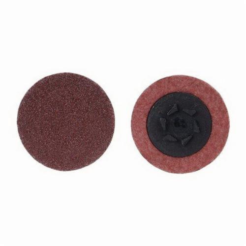 Merit® 69957399792 Coated Abrasive Quick-Change Disc, 3 in Dia, 120 Grit, Medium Grade, Aluminum Oxide Abrasive, Type TP (Type I) Attachment