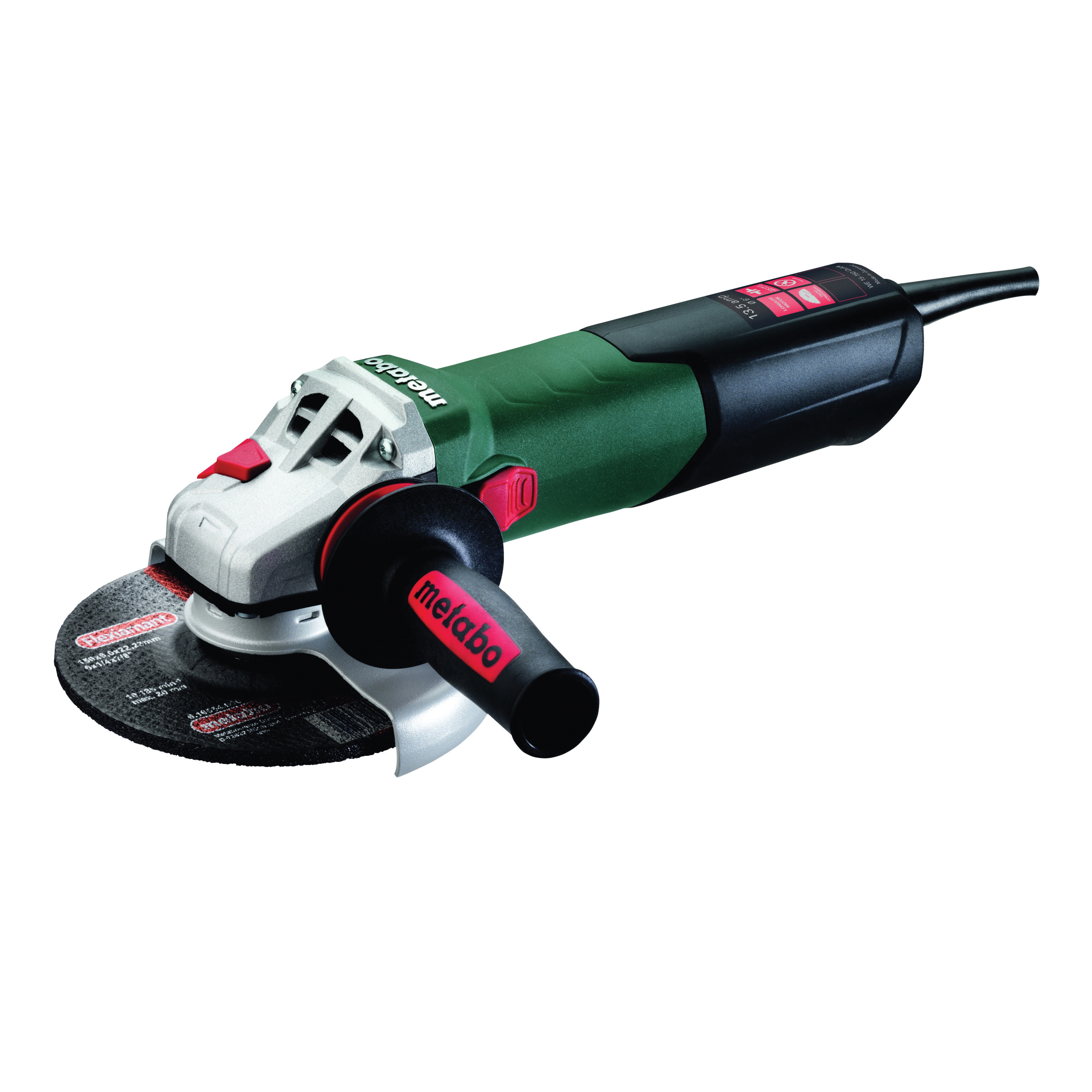"Metabo WE 15-150 Quick 6"" Angle Grinder"