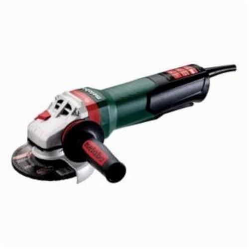 metabo® 600548420 Electric Angle Grinder, 5 in Dia Wheel, 5/8-11 UNC Arbor/Shank, 110 to 120 VAC, Non-Locking Paddle Switch Switch, Tool Only