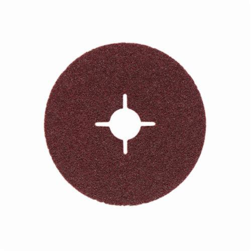 metabo® 624219000 Close Coated General Purpose Round Hole Slotted Heavy Duty Abrasive Disc, 5 in Dia, 7/8 in Center Hole, P40 Grit, Aluminum Oxide Abrasive, Arbor Attachment