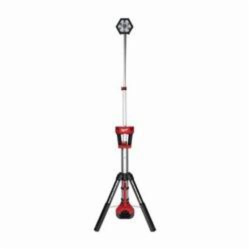 Milwaukee® 2130-20 M18™ ROCKET™ Cordless Tower Light, LED Lamp, 18 VDC, REDLITHIUM™ XC 5.0 Battery
