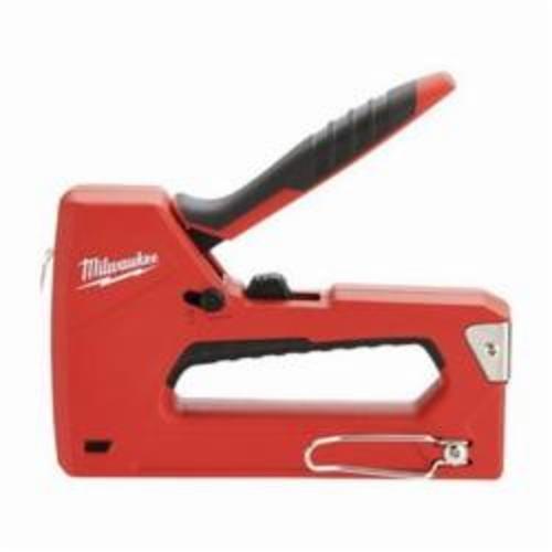 Milwaukee® 48-22-1010 Staple and Nail Gun, Narrow Crown Staple, Manual, 100 Staple
