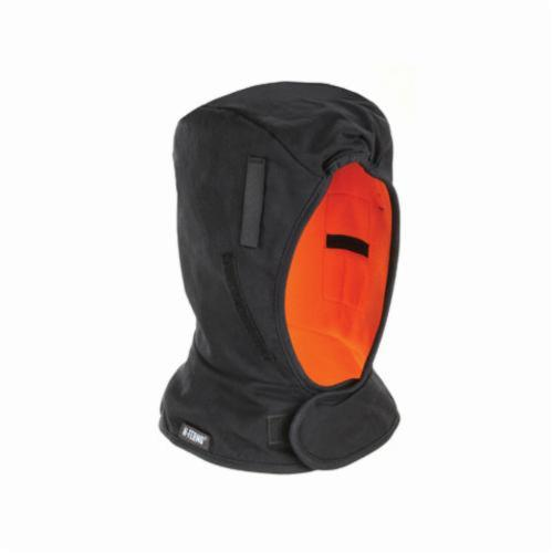 N-Ferno® 16852 Winter Liner With Warming Pack Pockets At Ears For Cold Conditions, Cotton Twill Shell/Polyester Fleece Lining, Black