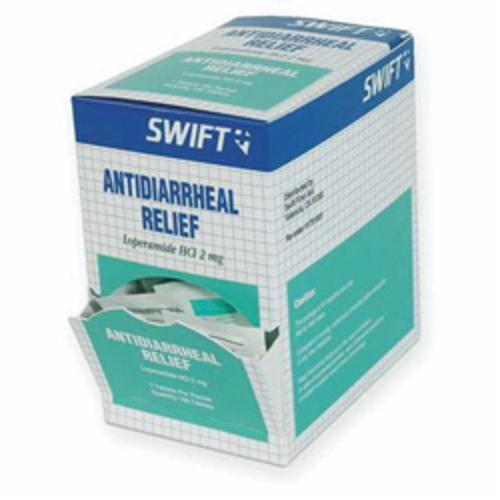 North® by Honeywell 1751001 Swift® Anti-Diarrheal Tablet, 50 x 2 Count, Box Package, Formula: Loperamide HCI USP