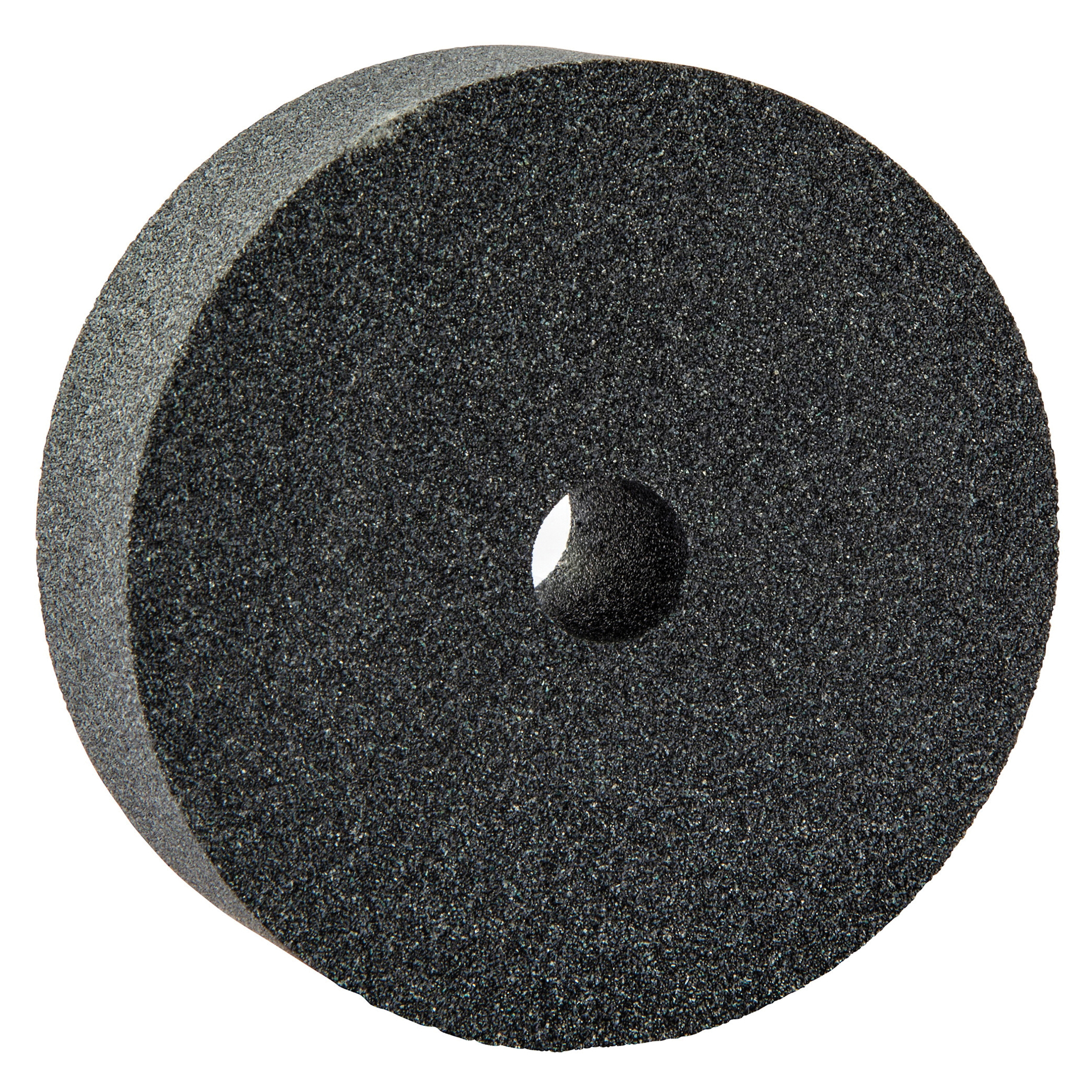 Norton® 66243529171 37C Straight Dressing Wheel, 3 in Dia x 1 in THK, 1/2 in Center Hole, 80 Grit, Silicon Carbide Abrasive