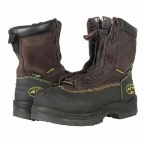 Oliver by Honeywell 65392-TN-070 Insulated Work Boots, Men's, SZ 7, 8 in H, Steel Toe, Leather Upper, Rubber Outsole, Resists: Abrasion, Chemical, Impact, Slip and Water, Specifications Met: ASTM F2413-11 M I/75 C/75 Mt/75 SD