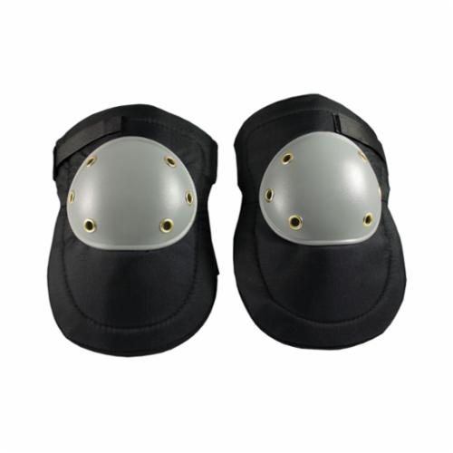 PIP® 291-100 Cap Style, Hard Plastic Cap, Thick Foam Pad, Hook and Loop Closure, Black/Gray