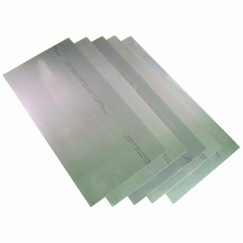 Precision Brand® 22LF8 Shim Stock Assortment, 302 Full Hard Stainless Steel, 0.001 in THK Min, 0.02 in THK Max, 12 in L x 6 in W