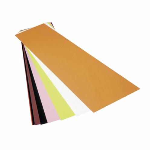 Precision Brand® 44105 Flat Sheet Color Coded Shim, Silver, Polyester, 20 in L x 5 in W x 0.0005 in THK