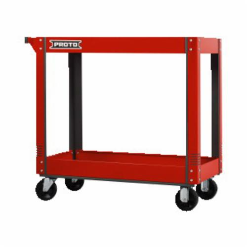 Proto® J441000-RD 440SS Basic Utility Cart, 600 lb Load, 37-1/2 in L x 38-1/2 in H, Red
