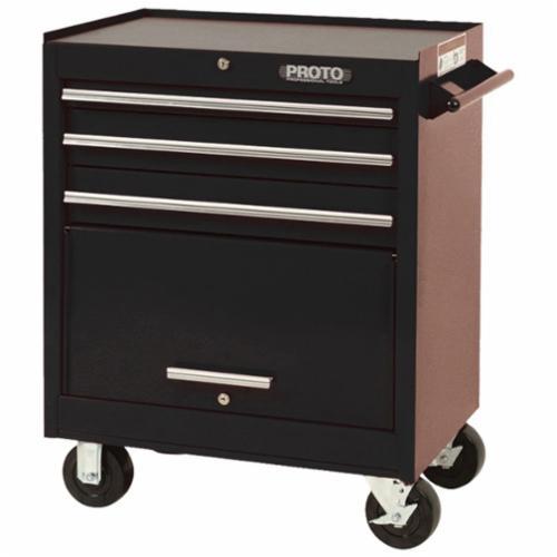 Proto® J442735-3BK 440SS Standard Duty Roller Cabinet, 35 in H x 27 in W x 18 in D