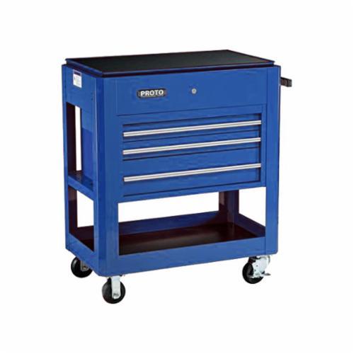 Proto® J459000-3BL 440SS Heavy Duty Utility Cart, 750 lb Load, 39-1/2 in L x 46 in H, Blue