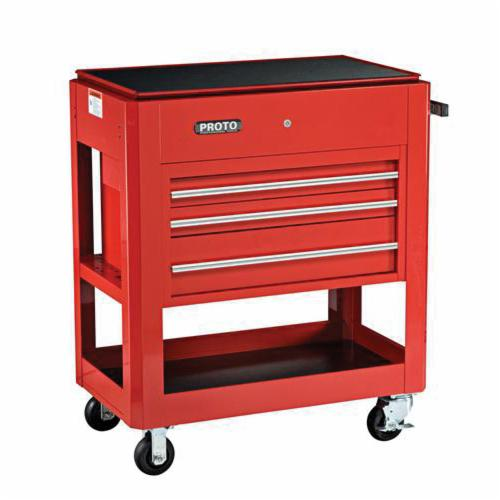 Proto® J459000-3RD 440SS Heavy Duty Utility Cart, 750 lb Load, 39-1/2 in L x 46 in H, Red