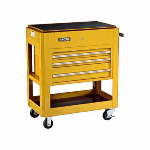 Proto® J459000-3YL 450 Heavy Duty Utility Cart, 750 lb Load, 39-1/2 in L x 46 in H, Yellow