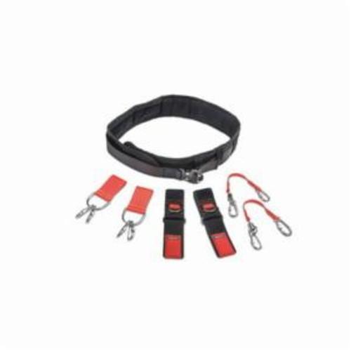 Proto® JBELTSET-L Tethering Comfort Belt Set, Nylon Webbing/Elastic Fabric