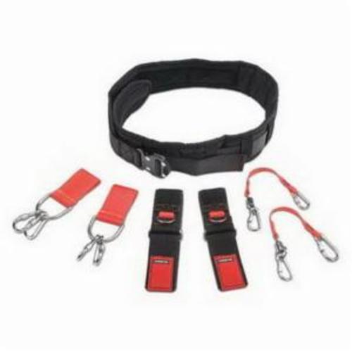 Proto® JBELTSET-M Tethering Comfort Belt Set, Nylon Webbing/Elastic Fabric
