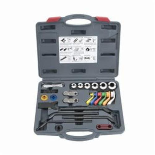 Proto® JFF5000 19-Piece Master Disconnect Set With Blow-Molded Case, For Use With GM and Ford, Plastic, Multi-Color