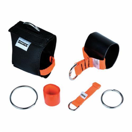Proto® JPSSCAFF4KIT 4-Tool Tethering Kit, Nylon/Steel/Heat Shrink Rubber