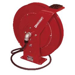 Reelcraft® 4425 OLP 4000 Low Pressure Premium Duty Hose Reel With Hose, 1/4 in ID x 19/40 in OD x 25 ft L Hose, 300 psi Pressure, 12-3/8 in Dia x 2-1/2 in W Reel, Domestic