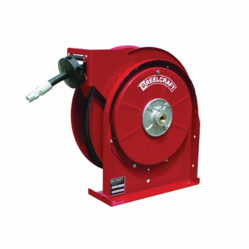 Reelcraft® 5435 OMP 5000 Full Flow Swivel Premium Duty Hose Reel, 1/4 in ID x 0.53 in OD x 35 ft L Hose, 2750 psi Pressure, Domestic