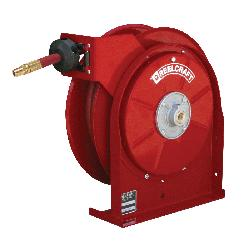 Reelcraft® 5450 OLP 5000 Low Pressure Premium Duty Hose Reel With Hose, 1/4 in ID x 19/40 in OD x 50 ft L Hose, 300 psi Pressure, 14 in Dia x 2-1/2 in W Reel, Domestic