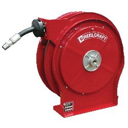 Reelcraft® 5625 OHP 5000 Full Flow Swivel Premium Duty Hose Reel, 3/8 in ID x 0.73 in OD x 25 ft L Hose, 4000 psi Pressure, Domestic