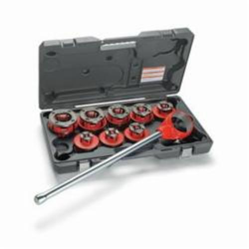 RIDGID® 36375 00-R Exposed Ratchet Threader Set, 1/8 to 1 in, NPT