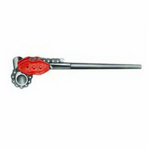 RIDGID® 92660 Chain Tong, 4 to 18 in Pipe, 87 in OAL, Alloy Steel Single End Jaw, Cast Iron Handle