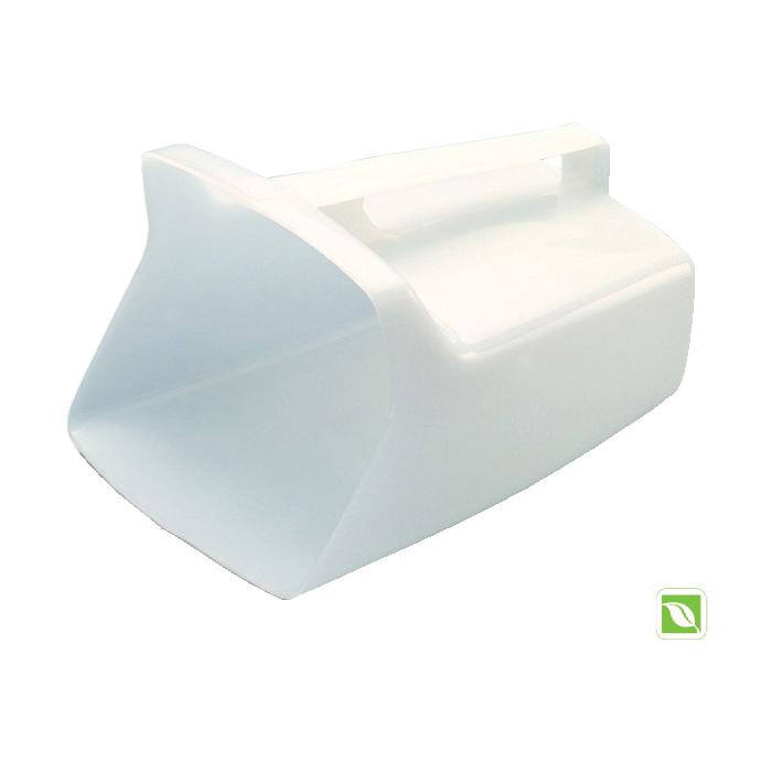 Rubbermaid® FG288500WHT 2885 Bouncer® Multi-Purpose Utility Scoop, 64 oz, HDPE