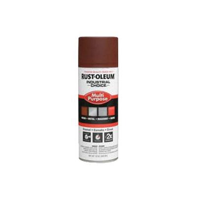 Rust-Oleum® 1667830 1600 System Multi-Purpose Enamel Spray Primer, 12 oz Container, Liquid Form, Red, 12 to 15 sq-ft/can Coverage