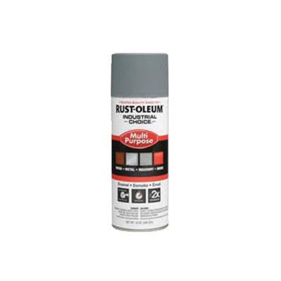 Rust-Oleum® 1680830 1600 System Multi-Purpose Enamel Spray Primer, 12 oz Container, Liquid Form, Gray, 12 to 15 sq-ft/can Coverage