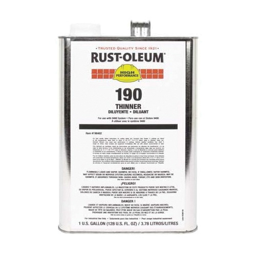 Rust-Oleum® 190402 Paint Thinner, 1 gal Can, Liquid Form, 360 to 870 sq-ft/gal Coverage