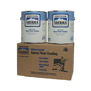 Rust-Oleum® 251212 S40 System 2-Component Water Based Epoxy Floor Coating Kit, Liquid Form, Classic Gray, 135 to 195 sq-ft/gal Coverage, 7 days Curing