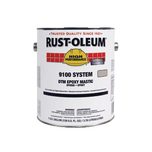 Rust-Oleum® 9122402 9100 System 2-Component DTM Epoxy Mastic Base, 1 gal Can, Solvent Base, Marlin Blue