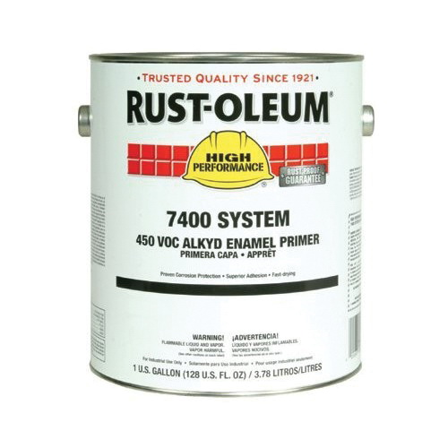 Rust-Oleum® 678300 7400 System 1-Component Quick-Dry Fast Recoat Primer, 5 gal Container, Liquid Form, Red, 230 to 390 sq-ft/gal Coverage