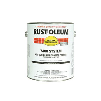 Rust-Oleum® 678402 7400 System 1-Component Quick-Dry Fast Recoat Primer, 1 gal Container, Liquid Form, Red, 230 to 390 sq-ft/gal Coverage