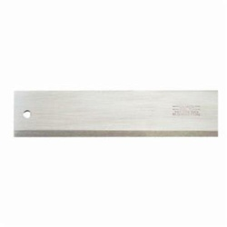 Starrett® 386-12 Beveled Straight Edge, Steel, Regular Steel