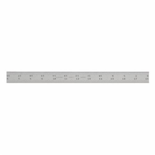 Starrett® CB24-16R Combination Square Blade, 24 in L Carbon Steel Blade, 1 Pieces, #16R - Quick-Reading 32nds, 64ths, Aircraft Quick-Reading 50ths, 100ths Graduation