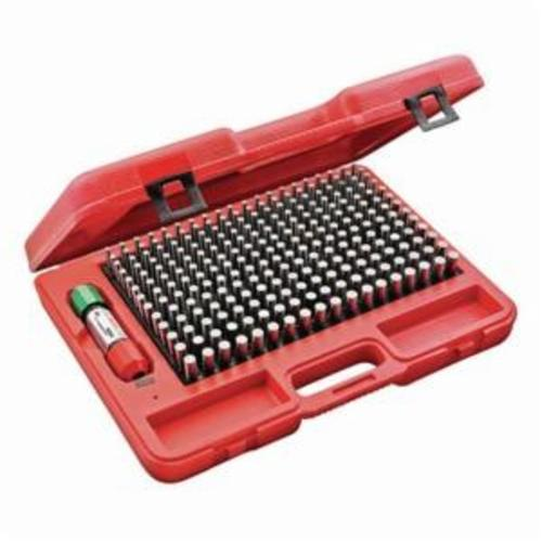 Starrett® S4004-500 S4000 Global Series® Precision Pin Gage Plus Set, 250 Pieces, Hardened Tool Steel