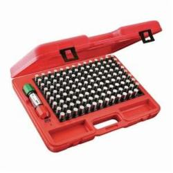 Starrett® S4006-625 S4000 Global Series® Precision Pin Gage Plus Set, 125 Pieces, Hardened Tool Steel