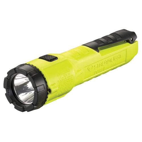 Streamlight® 68751 3AA ProPolymer® Dualie® Dust-Tight Multi-Function Spot/Flood Flashlight, C4® LED Bulb, Polymer Housing, 245 Lumens, 2 Bulbs