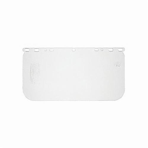 U.S. Safety™ 485400 Matrix® ValuGard Replacement Visor, Clear, Acetate, 8 in H x 15-1/2 in W x 0.4 in THK Visor, Specifications Met: ANSI Z87.1, CSA Z94.3