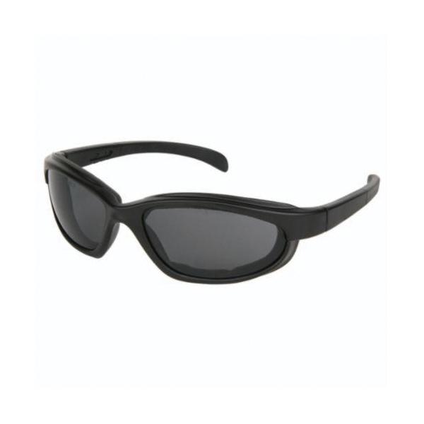 U.S. Safety™ PN112AF Pantera® PN1 Dual Lens Safety Glasses, Duramass® Anti-Fog, Gray Lens, Full Framed Frame, Black, Nylon Frame, Polycarbonate Lens, ANSI Z87+