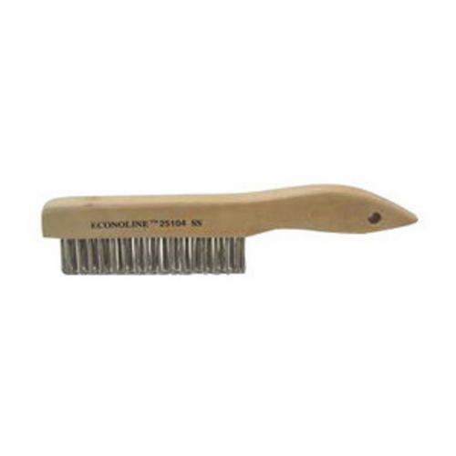 Vortec Pro® 25104 Scratch Brush, 5 in Brush, 10 in L x 1 in W Block, 10 in OAL, 1 in Stainless Steel Trim