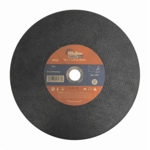Vortec Pro®Wolverine™ 56239 Large Cut-Off Wheel, 12 in Dia x 3/32 in THK, 1 in Center Hole, A46T Grit, Aluminum Oxide Abrasive