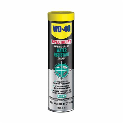 WD-40® SPECIALIST® 300417 Water Resistant Grease, 14 oz Cartridge, Blue, 0 to 620 deg F