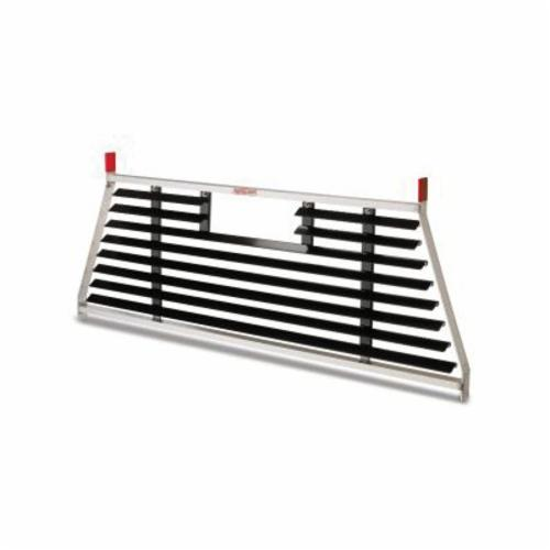 WEATHER GUARD® PROTECT-A-RAIL® 1905-0-02 Cab Protector, Aluminum, Clear, Armor-Tuf® Powder Coated