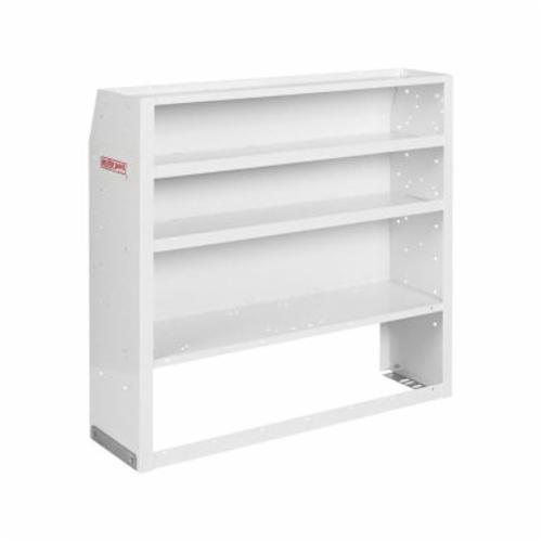 WEATHER GUARD® EZ-Cube 2739380 Welded Shelf Unit, Armor-Tuf® Powder Coated, 42 in W Shelf, Steel, White